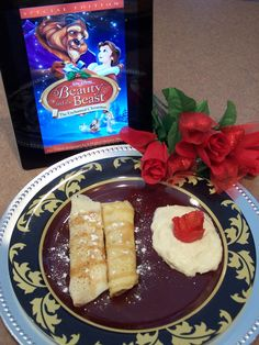 Beauty And The Beast themed meal.