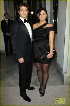 Henry Cavill and Girlfriend Gina Carano