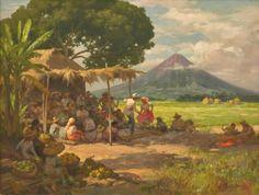 Filipino Art, Filipino Culture, Philippine Art, Vintage Artwork, Filipina, View Image, Worlds Largest, Philippines, Oil On Canvas