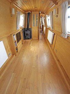 Modern Narrow Boat.