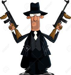 11004635-Italian-on-a-white-background-vector-illustration-Stock-Vector-gangster-mafia-cartoon.jpg (1230×1300)