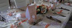 Esküvői dekoráció, esküvői asztaldísz, barack esküvői dekoráció