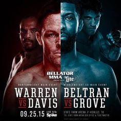 Bellator 143: Warren vs. Davis Fightcard