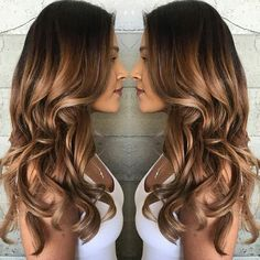 We are the largest community in the world for salon professionals with over 600,000 members worldwide!! Check out our website with 25,000 pages of salon related articles, collections, step-by-steps, business support! Ombre Sombre, Balayage Hair, Haircolor, Bayalage, Ombre Hair, Hair Color Caramel, Caramel Highlights, Caramel Hair With Brown, Baby Highlights