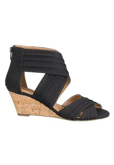 Ricki canvas wedge - maurices.com