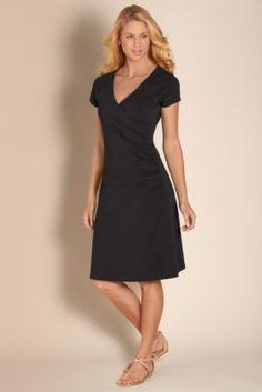 Shapely Anywhere Dress - V Neck Summer Dress, Surplice Dress, Raglan Sleeve Dress | Soft Surroundings