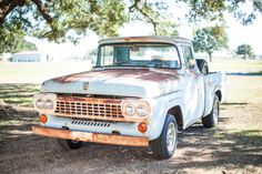 1958 Ford Truck-I love old trucks