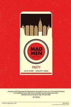 담배값을 사용해서 도시의 모습을 나타낸 포스터