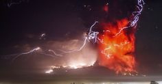Chile's Cabulco volcano started erupting for the first time in 43 years, spraying dust and ash at least 15 kilometres into the sky, and causing the evacuation of up to 2,000 local residents.