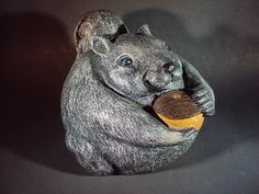 Statue Squirrel  Statuary Weights Over Five by MountainArtCasting, $34.95