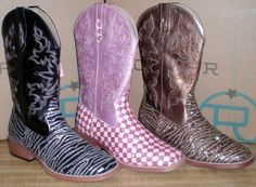 Ladies Roper boots with just a little bit of glitter  http://www.eliswesternwear.com/roper-glitter/Search
