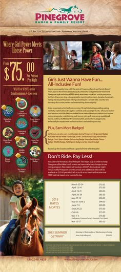 Pinegrove Ranch Girl Scout weekends