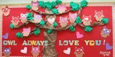 Trendy birthday board ideas for daycare valentines day 70 Ideas Owl Bulletin Boards, February Bulletin Boards, Valentines Day Bulletin Board, Preschool Bulletin Boards, Valentine Theme, Valentine Day Crafts, Holiday Crafts, Bullentin Boards, Owl Theme Classroom