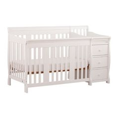 Delta Bennington Bell Curved Lifetime Crib White Ambiance Cribs Convertible Crib