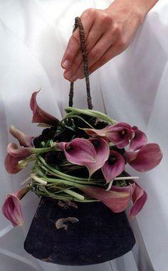 Composition florale pour la mariée-