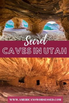 Looking to go exploring caves in Utah? This list of Utah caves has something for everyone!  caves in utah | utah caverns | explore utah | discover utah | utah hidden gems Oh The Places You'll Go, Places To Travel, Travel Destinations, Utah Vacation, Utah Adventures, United States Travel, Travel Usa, Japan Travel, Caves