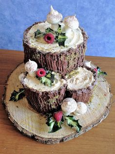 Christmas Tree Food, Xmas, Buttercream Cake, Sweet Cakes, Cake Art, Chocolate Cake, Sweet Recipes, Holiday Recipes, Buffet