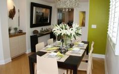 Dining Room Decor Ideas For Apartments