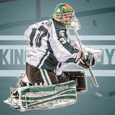 "Jake Hildebrand Edit, ""King Hildy"".  or ? #sport #hockey #edit #sportsedit #hockeyedit #ncaa #michiganstate #spartans #gogreen #michiganstatehockey #Ateam #king #bigten #Padgram"