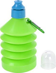 Botella infantil plegable