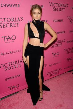 Gigi Hadid - Victoria's Secret 2015: de beste looks van de Pink Carpet