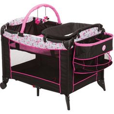 Disney Baby Minnie Mouse Sweet Wonder Play Yard Garden Delight PY375CZR