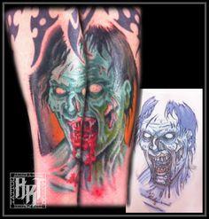 Andrew R Trull/ custom tattoo artist Custom Tattoo, Future Tattoos, I Tattoo, Tattoo Artists, Fashion Art, Watercolor Tattoo, Traditional, Design, Neo Tattoo