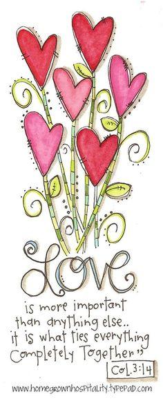Colossians Love this scripture Scripture Art, Bible Art, Bible Quotes, Bible Verses, Scriptures, Wedding Scripture, Scripture Painting, Qoutes, Bibel Journal