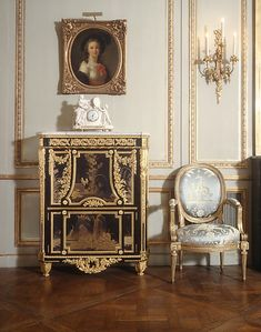 Grand Salon from the Hôtel de Tessé, 1768-72 with later additions