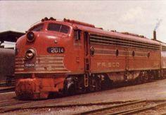 frisco diesel locomotives | Date Original: Unknown