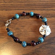 Starfish Beaded Bracelet by wickedhoule on Etsy, $30.00 so want one of these!!