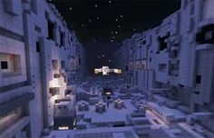 #Minecraft Users Build Ships From Firefly, Star Trek, And Babylon 5   Giant Freakin Robot  LIke, share and repin :))))))
