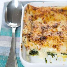Lasagnes chèvre et épinards - Cuisine actuelle mobile