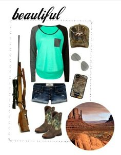 Minus the boots. Can't wear boots with shorts without looking like a goofball. Cute Country Outfits, Country Wear, Country Girl Style, Country Fashion, My Style, Country Life, Rock Style, Country Chic, Camo Outfits