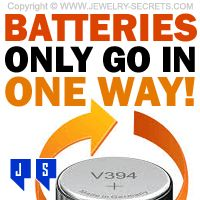 ►► WATCH BATTERIES ONLY GO IN ONE WAY! ►► Jewelry Secrets