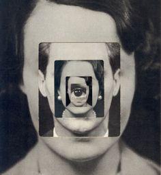 Me.  'Introvert' Collage © Sammy Slabbinck 2015