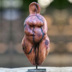 Wood Sculptures by Christiane Nivala on Etsy
