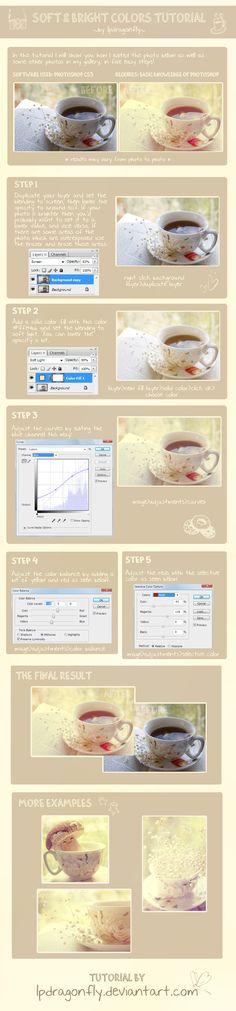 soft bright colors tutorial by =lpdragonfly on deviantART for CAPI- Create Art Portfolio Ideas at www.milliande.com