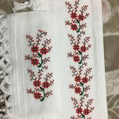 Designing Your Own Cross Stitch Embroidery Patterns - Embroidery Patterns Cross Stitch Bookmarks, Cross Stitch Borders, Cross Stitch Rose, Cross Stitch Flowers, Cross Stitch Designs, Cross Stitching, Cross Stitch Patterns, Hand Embroidery Flowers, Crewel Embroidery