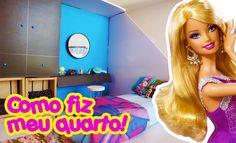 Casa da Barbie - Como fiz e decorei o meu quarto!