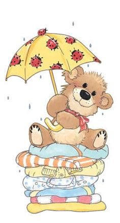 Florynda del Sol ღ☀¨✿ ¸.ღ ♥Suzy's Zoo♥ Anche gli Orsetti hanno un'anima…♥ Tatty Teddy, Bear Clipart, Cute Clipart, Betty Boo, Image Digital, Bear Illustration, Love Bear, Cute Bears, Digital Stamps