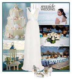 """""""Seaside Wedding"""" by ruza-b-s ❤ liked on Polyvore featuring Lanvin"""