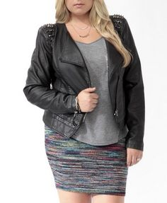 Spiked Moto Jacket .... just ordered this can't wait till it comes!!!!!!!!!!!!