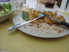 Ragu di Cinghiale - lunch in a backstreet in Pisa