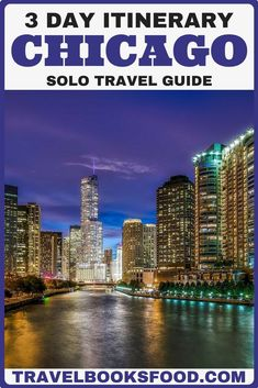 The Midwest of the U. might not come to mind as a travel destination for solo travel - but if you find yourself alone in Chicago, you won't be disappointed! Here's how to make the most of a solo trip to Chicago, the capital of the Midwest. Chicago Places To Visit, Chicago Things To Do, Cool Places To Visit, Visit Chicago, Usa Travel Guide, Travel Usa, Travel Tips, Travel Guides, Travel Articles