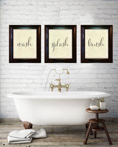 Plus de 1000 id es propos de salle de bain gris bois for Poster pour salle de bain