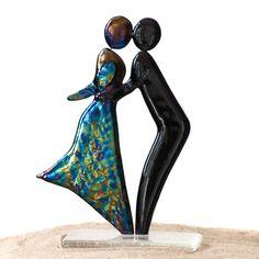 """Abstrakt skulptur - """"Kiss"""""""
