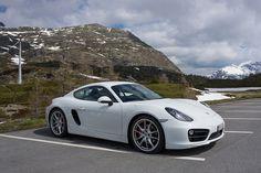 Porsche Cayman S, Col du Simplon