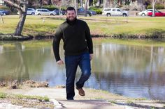 banana republic sweater, dl1961 russell jeans, leather sperries, beards