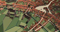 Digital reconstruction township of 's-Hertogenbosch in the Netherlands by Ronald Glaudemans